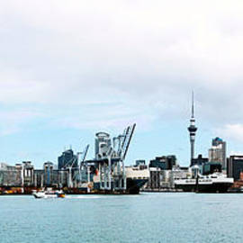 Auckland Waterfront by C H Apperson