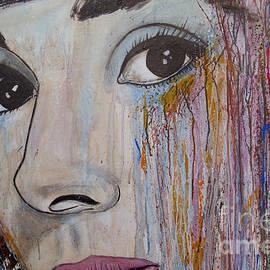 Ismeta Gruenwald - Audrey Hepburn-Abstract 2