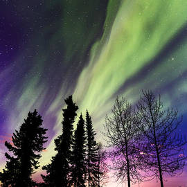 Sean Kurdziolek - Aurora and Moon Rise