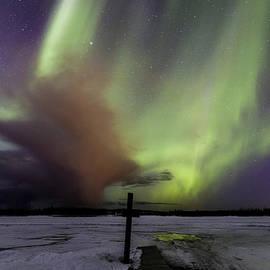 Sean Kurdziolek - Aurora and Storm Cloud