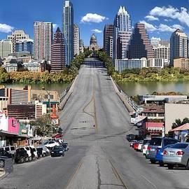 Carl Crum - Austin Congress Avenue Photomontage