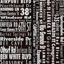 Carl Crum - Austin Texas NSEW Street Names