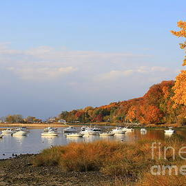 Autumn at Cold Spring Harbor by Dora Sofia Caputo Photographic Design and Fine Art