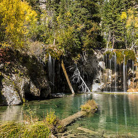 Autumn At Hanging Lake Waterfall - Glenwood Canyon Colorado by Brian Harig