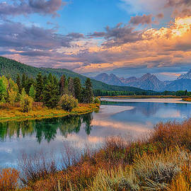 Autumn At Oxbow Bend Limited Edition by Greg Norrell