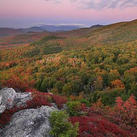 Chris Whiton - Autumn Glow after Sunset at Nubble Peak