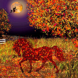 Autumn Horse Bewitched by Michele Avanti