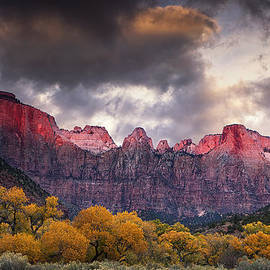 Andrew Soundarajan - Autumn Morning in Zion