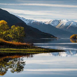 Autumn on Loch Leven by Dave Bowman