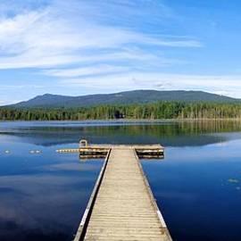 Ian Mcadie - Autumn On Whonnock Lake