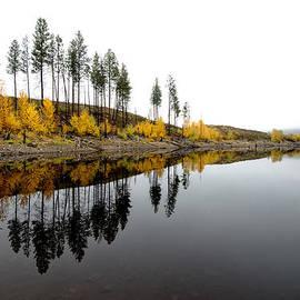 Allan Van Gasbeck - Autumn Reflection Horizon