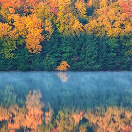 India Blue photos - Autumn Reflections