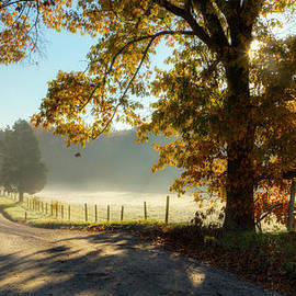 Autumn Road by Bill Wakeley