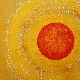 Autumn Sun original painting by Sol Luckman