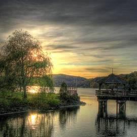 Autumn Sunset by Nicola Nobile