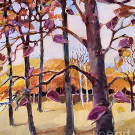 Autumn Trees by Diane Ursin
