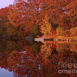 Autumn's Reflection by Joe Geraci