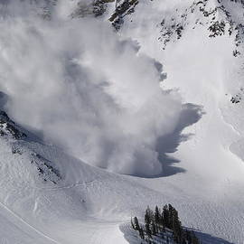 Avalanche IV by Bill Gallagher