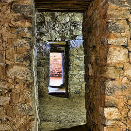 Wes and Dotty Weber - Aztec Ruin Doorway
