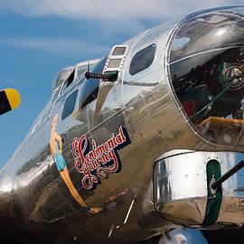 B-17 Flying Fortress by Adam Romanowicz