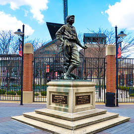 Bill Cannon - Babes Dream Statue - Baltimore Maryland