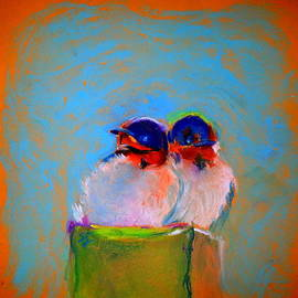 Baby Swallows by Sue Jacobi