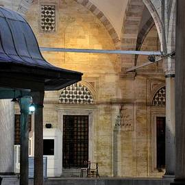 Imran Ahmed - Back lit interior of mosque