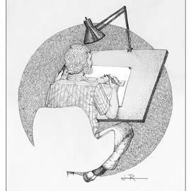 Jim Rehlin - Self-Portrait