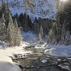 Matthias Hauser - Baergunt valley Kleinwalsertal Austria in winter