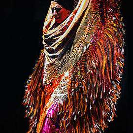 Bailaora flamenco by Juan Carvajal