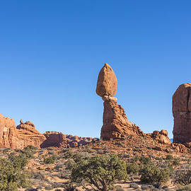 Balanced Rock - Arches National Park - Moab Utah by Brian Harig