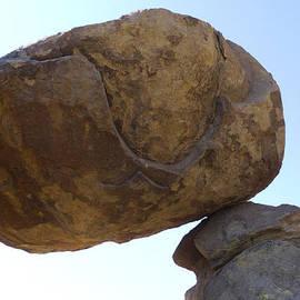 Balanced Rock - Big Bend National Park, Texas by Susan Porter
