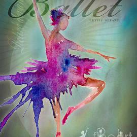 Ballet Retire Devant Poster by Amy Kirkpatrick
