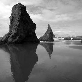 Michele Avanti - Bandon Beach Black n White