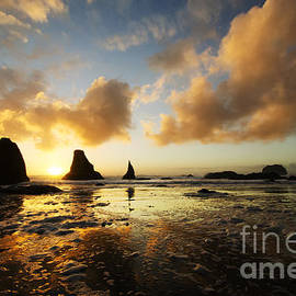 Bob Christopher - Bandon By The Sea Oregon Sunset 1
