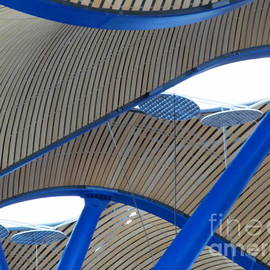 Barajas Ceiling Five by Tina M Wenger