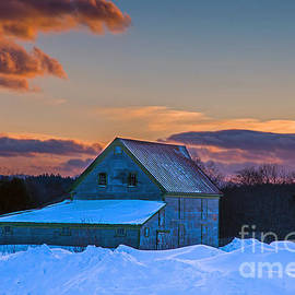 Barn in Winter by Alana Ranney
