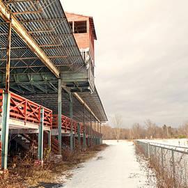 Barrington Fair Grandstand in WInter by Geoffrey Coelho