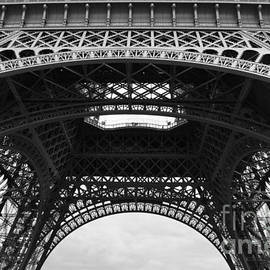Carol Groenen - Base of the Eiffel Tower - Black and White