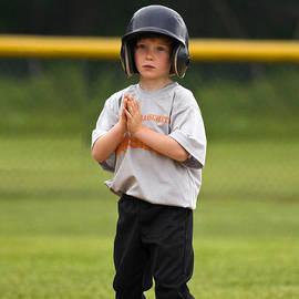 Baseball Prayer by Sally Weigand