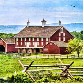 Battlefield Barn by Cathy Kovarik