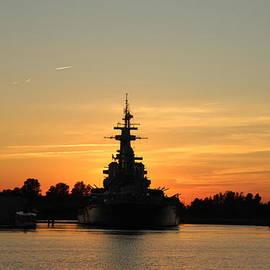 Cynthia Guinn - Battleship At Sunset