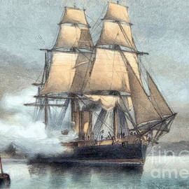 Battleship Neptune by Sergey Lukashin