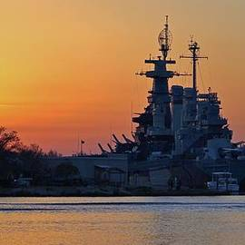 Cynthia Guinn - Battleship Sunset
