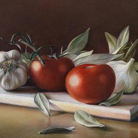 Bay Leafs and Tomatoes by Natasha Denger