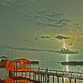 Bay Street Lightning by Stephen Whalen