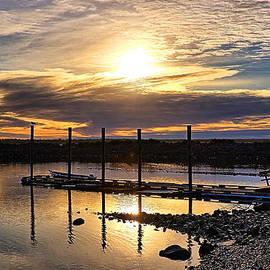 Bay Sunset by Chriss Pagani