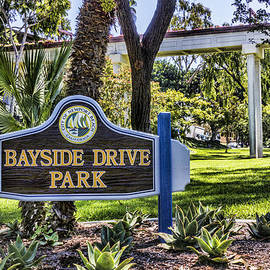 Bayside Drive Park by Photographic Art by Russel Ray Photos