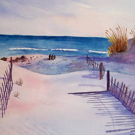 Christine Lathrop - Beach Afternoon