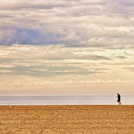 Beach Jogger by Chuck Staley